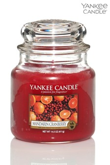 Yankee Candle Classic Medium Mandarin Cranberry Candle