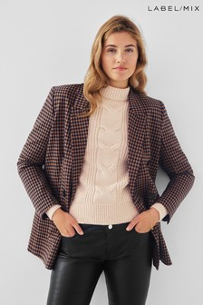 Second Female Branley Check Blazer