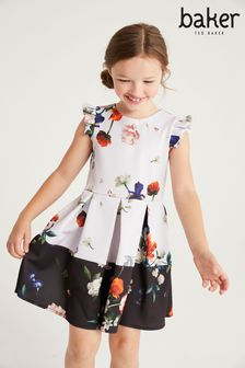Baker by Ted Baker Lilac Floral Dress