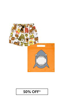 Stella McCartney Kids Baby Boys Multicoloured Swim Shorts