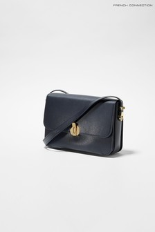 French Connection Blue Margot Crossbody Bag