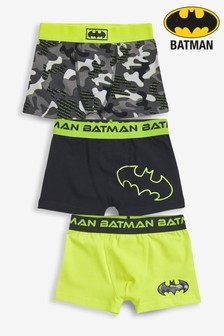3 Pack Batman® Trunks (2-10yrs)