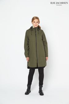 Ilse Jacobsen Hornbk Green Raincoat