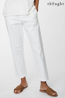 Thought White Sheng Trousers