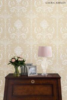 Laura Ashley Linen Josette Wallpaper