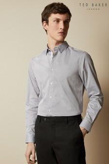Ted Baker Hamtie Long Sleeve Core Geo Print Shirt