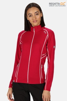 Regatta Womens Hentana II Full Zip Fleece With Merino Wool