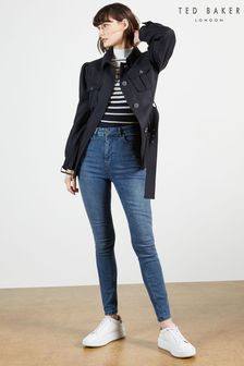 Ted Baker Blue Geon Skinny Mid Wash Jeans