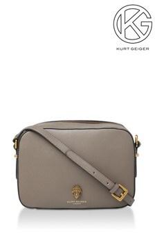 Kurt Geiger London Richmond Khaki Cross Body Bag