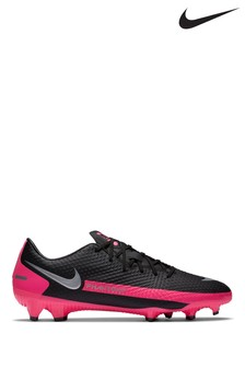 Nike Black/Pink Phantom GT Academy Multi Ground Football Boots