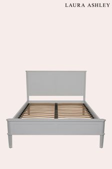 Henshaw Pale Charcoal Bed Frame by Laura Ashley
