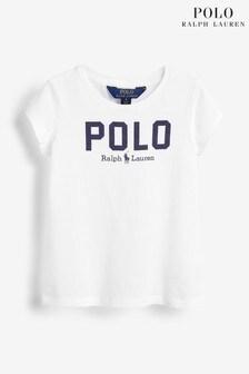 Ralph Lauren White Polo Logo T-Shirt