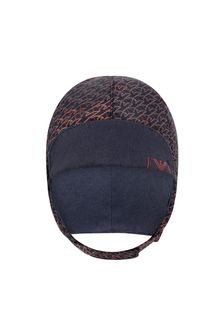 Emporio Armani Baby Boys Navy/Red Aviator Style Hat