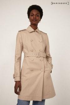 Warehouse Natural Femme Mac Coat