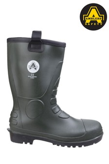 Amblers Safety Green FS97 PVC Rigger Boots