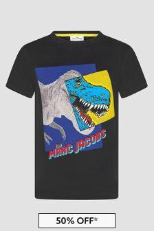 Marc Jacobs Boys Black T-Shirt