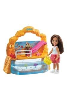 Barbie Club Chelsea Doll & Aquarium Playset