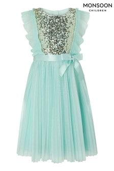 Monsoon S.E.W Recycled Gabriella Pleat Dress