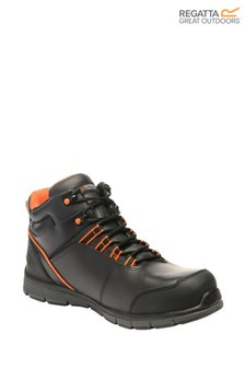 Regatta Black Dismantle S1P Safety Boots