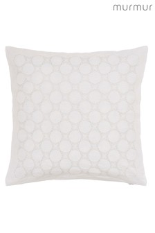 Murmur Star Skye Embroidered Linen Rich Cushion