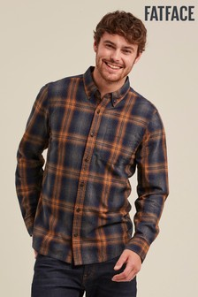 FatFace Blue Ramsbury Check Shirt