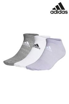 adidas Multi No Show Socks 3 Pack
