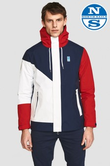 North Sails White Sailor Hooded Jacket
