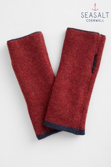 Seasalt Navy Reversible Mittens