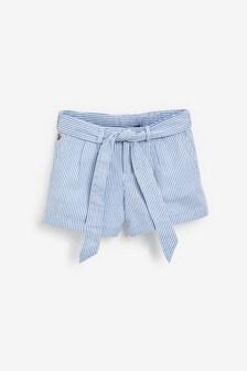 Ralph Lauren Blue/White Stripe Shorts