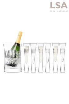 Moya Serving Set Clear Assorted Cuts by LSA International