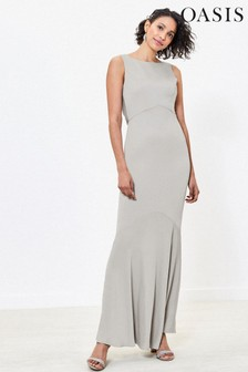 Oasis High Neck Bridesmaid Dress