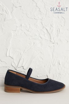 Seasalt Blue Rye Grass Inkwell Shoes