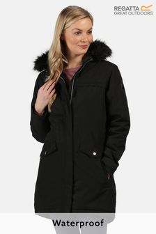 Regatta Black Serleena II Waterproof Jacket