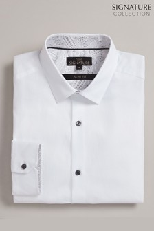 Signature Herringbone Shirt