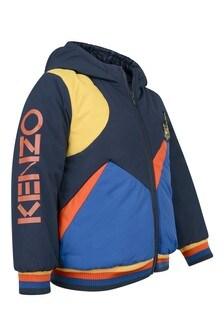 Boys Navy Down Padded Jacket