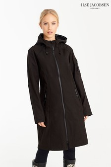 Ilse Jacobsen Hornbk Black Raincoat