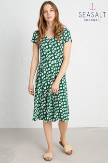 Seasalt Green Pier View Dress