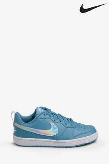 Nike Iridescent Court Borough Youth Trainers