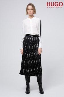 HUGO Black Ralissy-1 Skirt