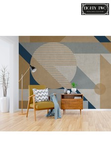 Exclusive To Next Concrete Geo Wall Mural by Eighty Two