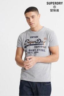 Superdry T-Shirt Store Vintage Logo Infill T-Shirt