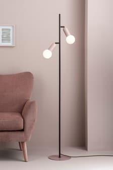 Pink Lyon 2 Light Floor Lamp