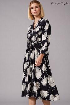 Phase Eight Black Keiki Floral Dress