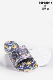 Superdry Printed Beach Sliders