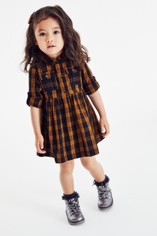 Check Shirt Dress (3mths-7yrs)