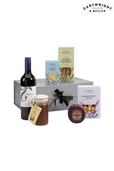 The Cheese And Wine Night Selection Hamper by Cartwright & Butler
