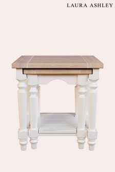Dorset White Nest Of Tables by Laura Ashley