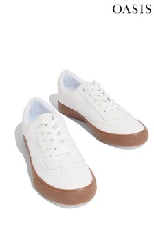 Oasis White Feel Good Trainers