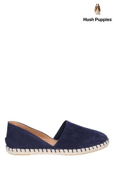 Hush Puppies Blue Rosie Espadrille Slip-On Shoes
