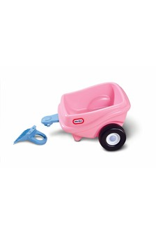 Little Tikes Princess Cozy Coupe Trailer - Pink